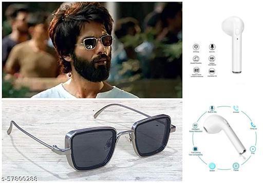 Kabir Singh Sunglasses with Bluetooth Earphone