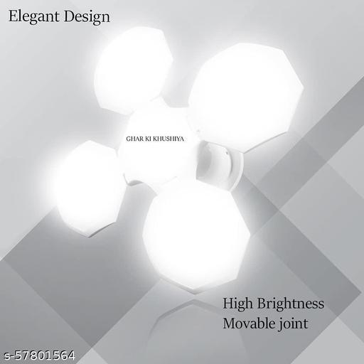GHAR KI KHUSHIYA® Foldable Light, Hanging Light Bulb, Super Bright Angle Adjustable Home Ceiling Lights Cool White Light Pendants Ceiling Lamp