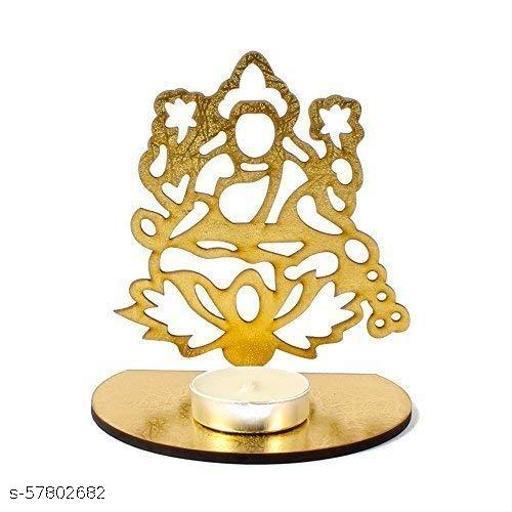 Combo of Laxmi & Ganesh shadow Festive Diyas