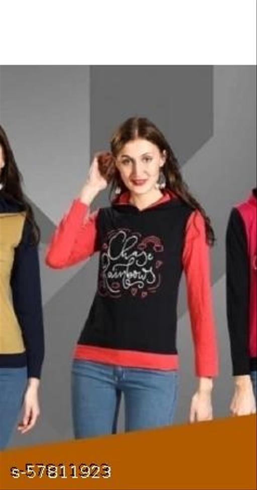 Women normal winter Sweatshirts