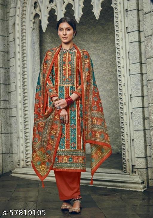 Presence Chanderi Silk digital printed Salwar Suit