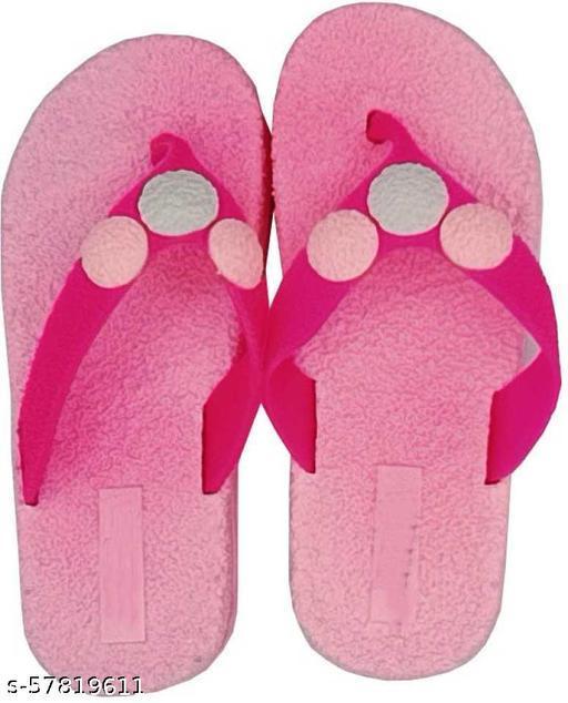 Trendy Women Flipflops & Slippers- Pink
