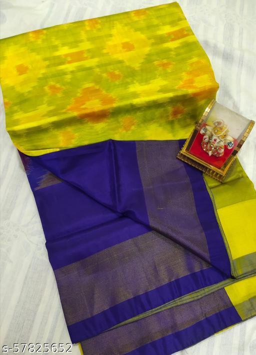 Uppada Soft Silk Pochampalli Design Sarees