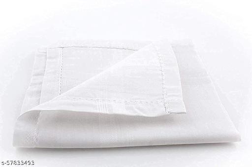 100% Cotton Handkerchiefs For Men, Size 45CM XL( 3 Pcs)