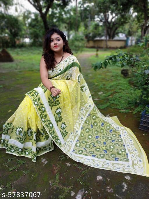 Tumpasona Dhakai Jamdani saree