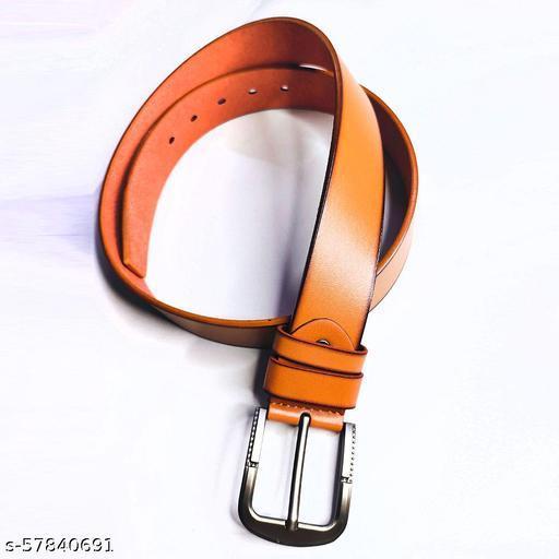 Men's fashionable belt Leather Belt For Men (pack of 1)