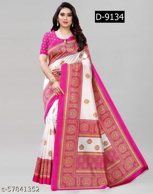 Dhwani Designer Hub presented art silk urban saree