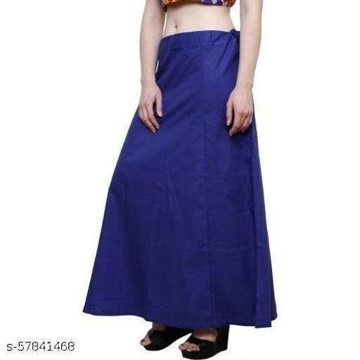 Style Ally Women's Saree Cotton Readymade Petticoat