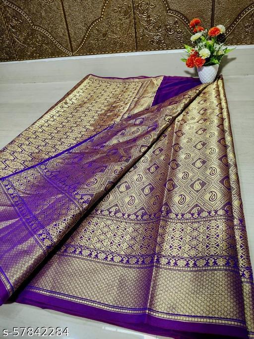 Kanchiwaram soft silk saree
