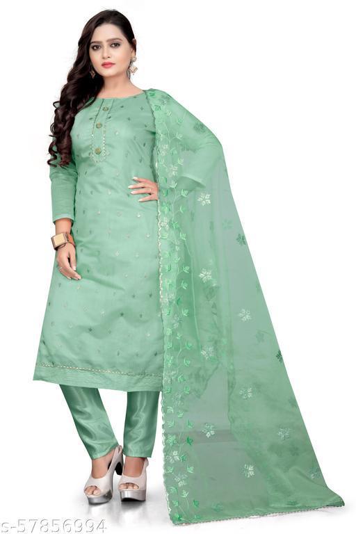 Lizza mint green suits