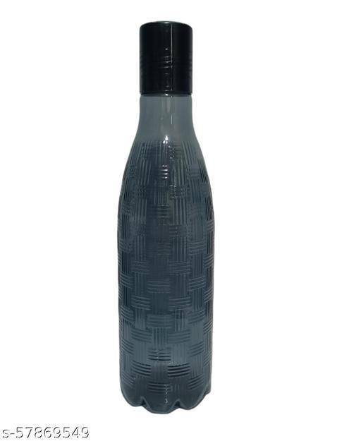 UNIQ COLLECTION Decorative Water Bottle( Grey)