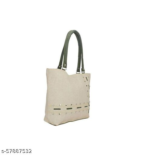 Grey, Green color Exclusive and Stylish Handbag for Girls for Teachers / College / Fund / Study / Office use