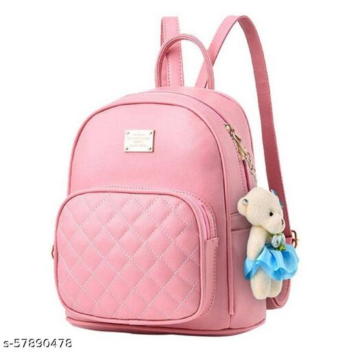 Pink color Exclusive and Stylish Handbag for Girls for Teachers / College / Fund / Study / Office use