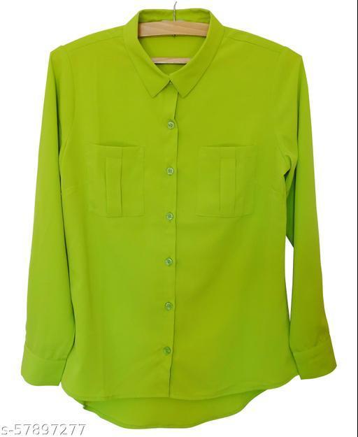 Lilavati A Crepe Green Shirt6