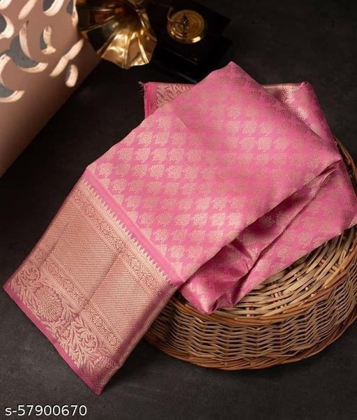 Poonam New Festive Look Traditional Jacquard Saree