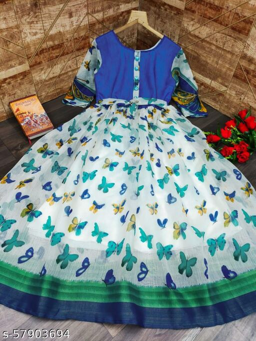VD-020 BUTTERFLY WESTERN GOWN