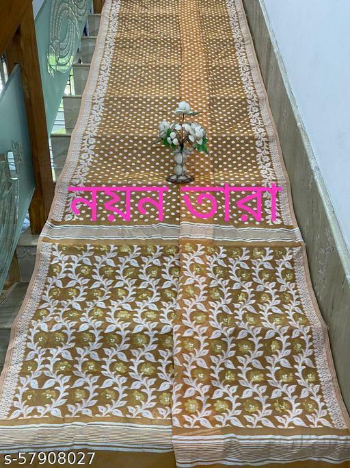 Handloom soft jamdani saree