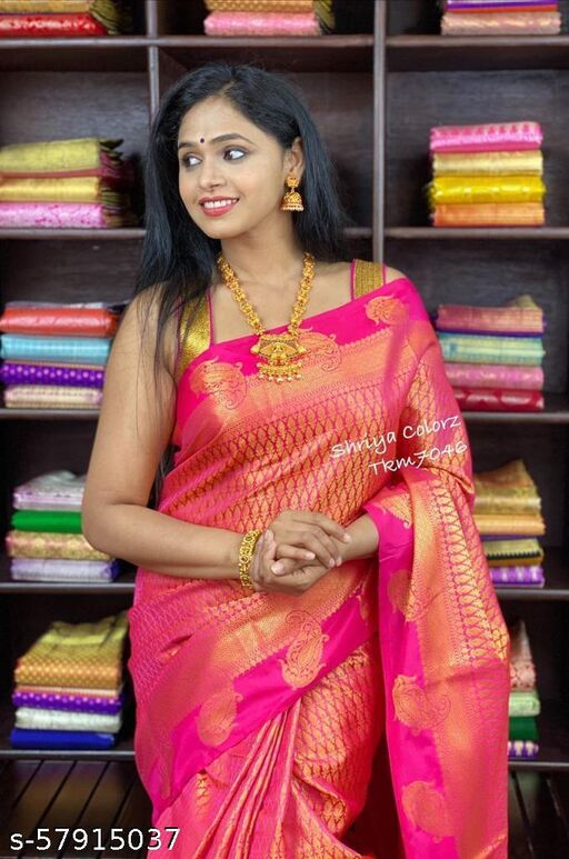 New kanjivaram style bridle saree special for diwali
