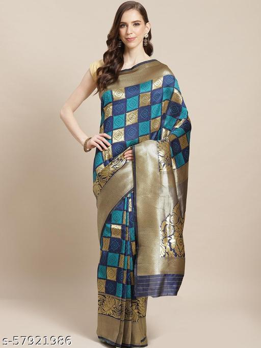 Anwesha Sarees Enthralling Blue Coloured Saree With Blouse