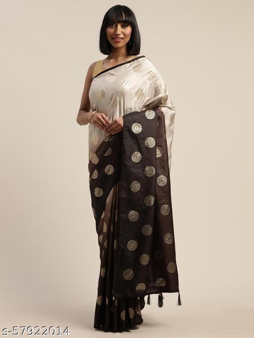 Anwesha Sarees Irresistable Coffee Coloured Saree With Blouse