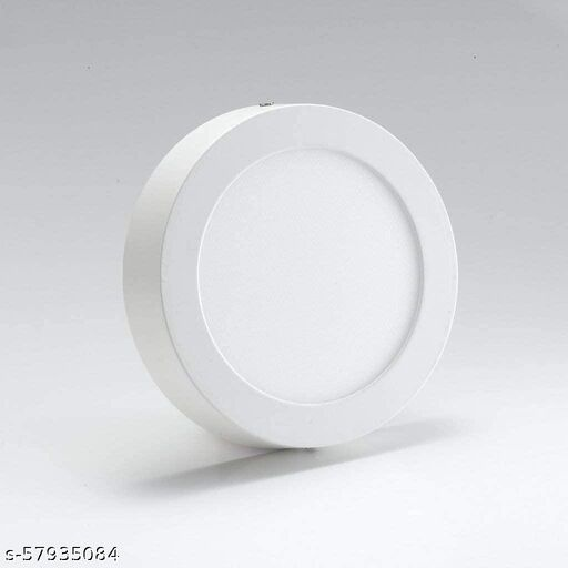 SATIN LITES Round Surface Mounted Panel Ceiling  Light Cool Day White (Pack of 1)-04