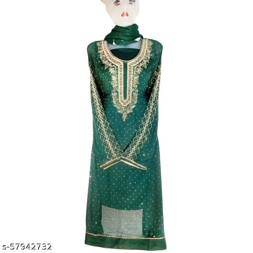 New Georgette - Unstitched Suit Dress Material