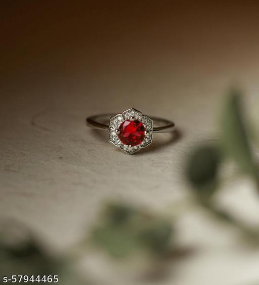 Ruby Floweret Ring