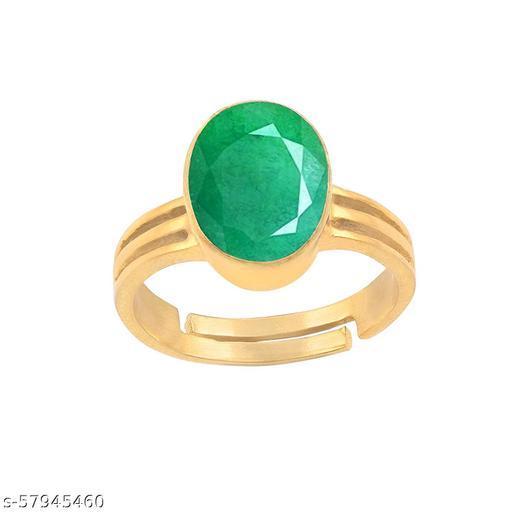 Emerald Panna Ring-7.25 Ratti