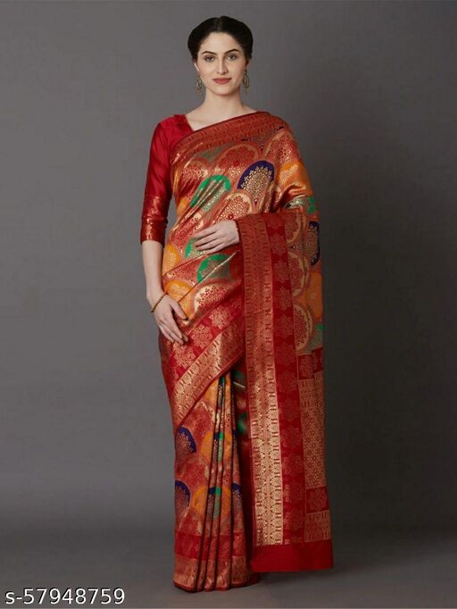 Red Beauty Sarees