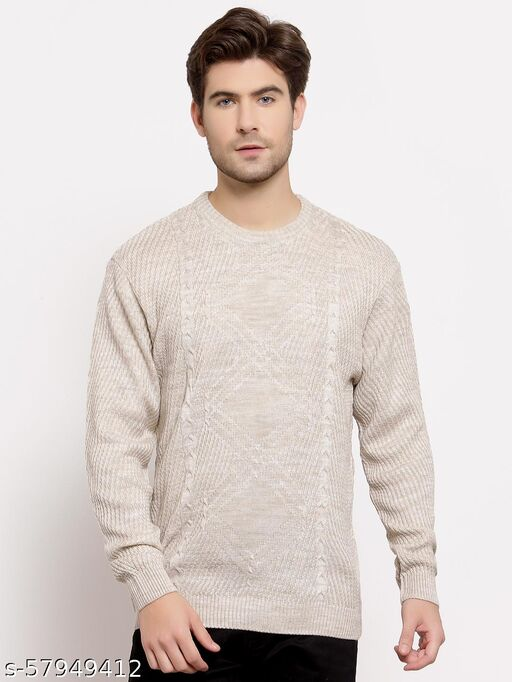 Style Quotient Mens Cable Knit Pullover Sweaters