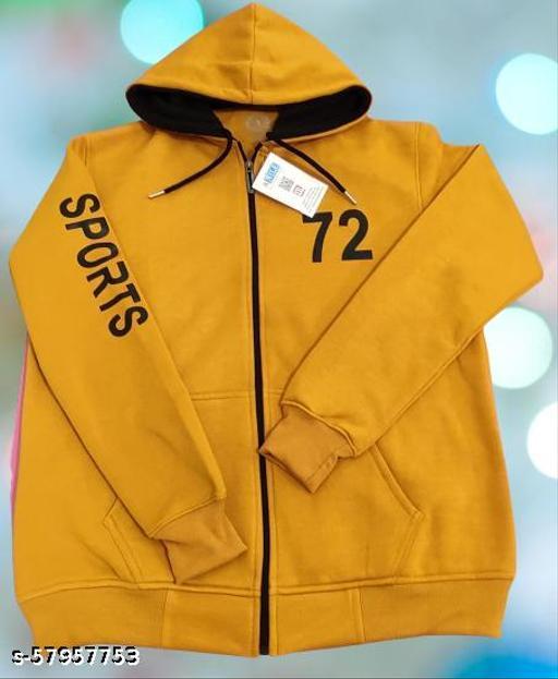 Swaetshirt Hood Zipper by Nile Fashion