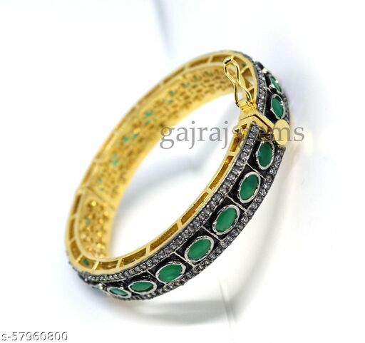 Green Onyx Bangle