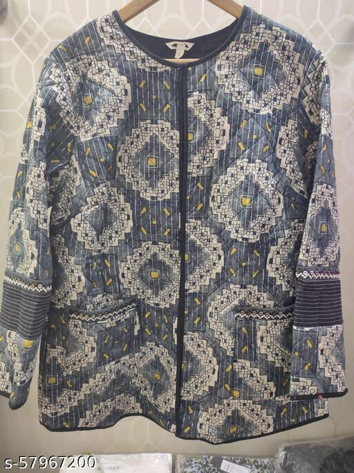 Best Clothing Ethnic Motif Front Open Shrug