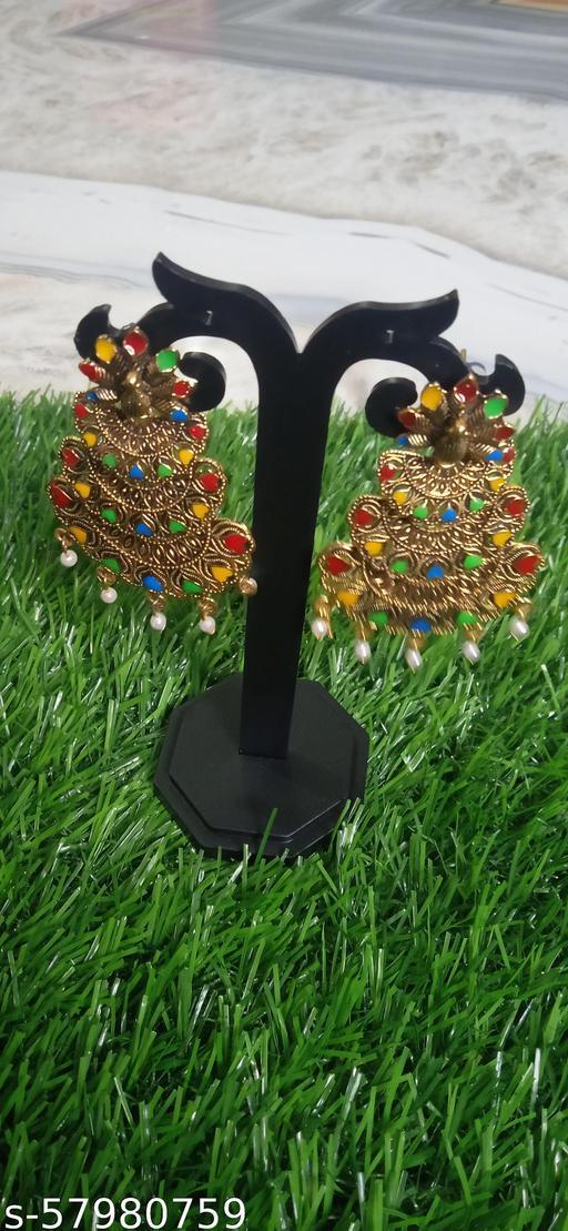 Combo pack of 2 meenakri Muli colour earring