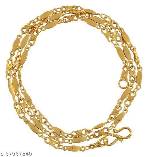 Maalgodam Chain Gold Brass Chain for Women (Chain-27)