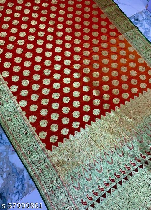 Fabulous Banarsi Handloom Silk Saree