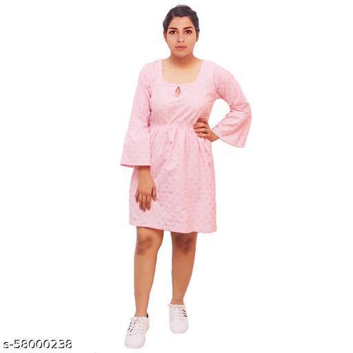 Fashinate India Women's Cotton Printed Dress