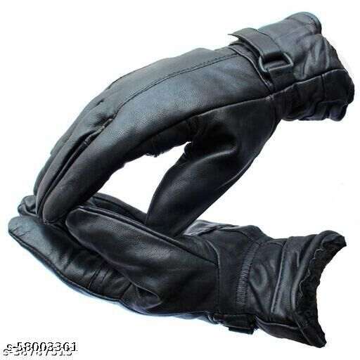 Men woollen gloves