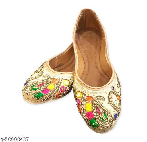 Punjabi Jutti For women & Girls Dabka Style,TPU Sole For Comfort Wearing