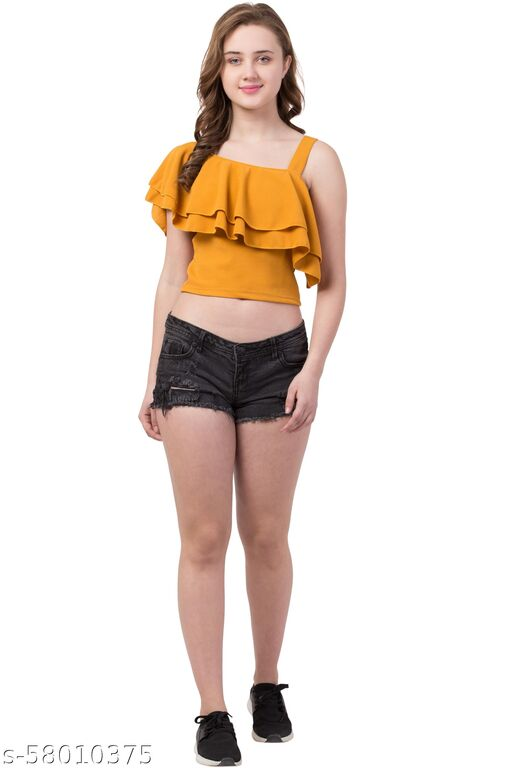 Partywear Western top for women and girls
