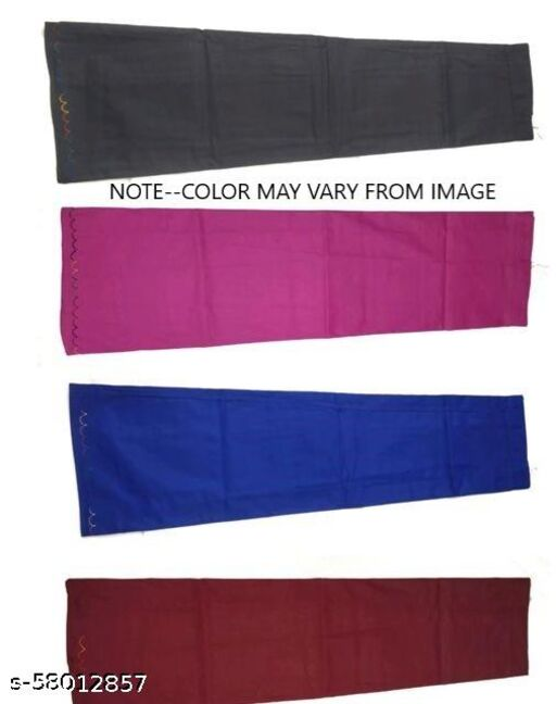 WOMENS 100%COTTON INSKIRT FOR SAREES MULTICOLOUR PART 8(PACK OF 4)  Petticoats