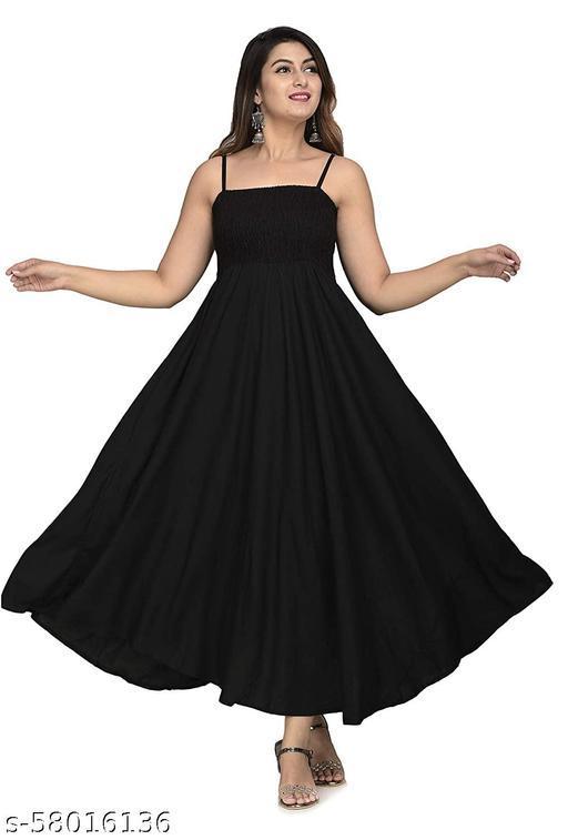 Fancify designed Extremely Stylish Comfortable Demanding Rayon Dress