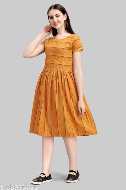 HORIZON COMFORT Women Graceful Dress