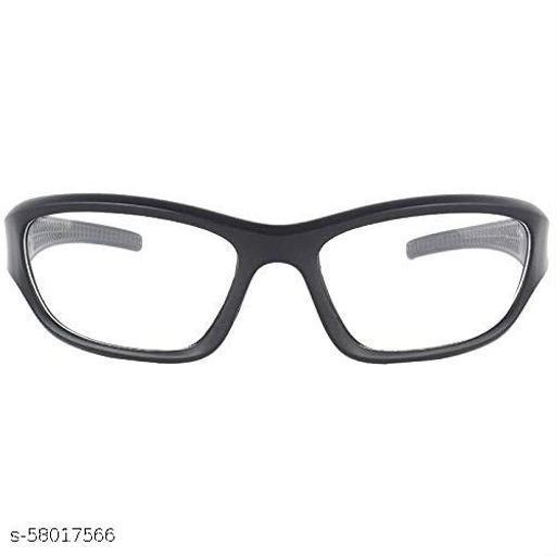 White Lens Black Frame Night Vision Driving Sunglasses for Men and Women