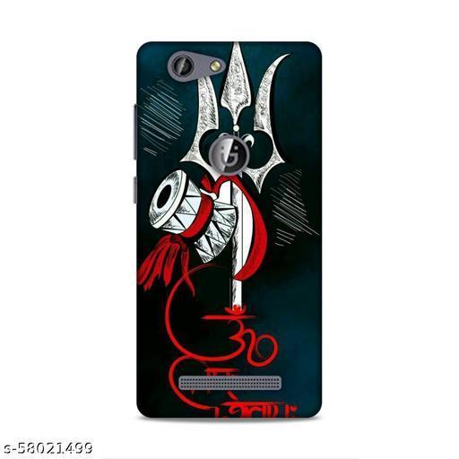 SAHU KRAFT Back Cover For Gionee F103 Pro Printed Back Cover|Lord Shiva Printed Back Cover|(Multicolor, Hard Case)