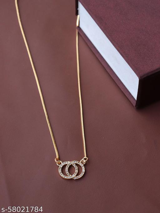 Golden Mini Charm Necklace