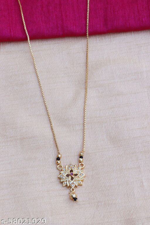 ITS Alloy Elegan Gold Pendant Necklace for Women