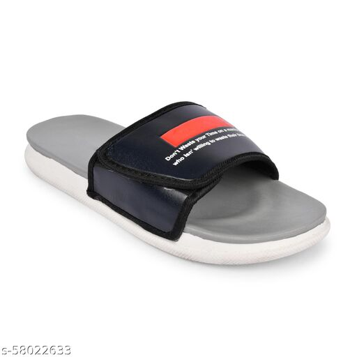 Creattoes Dailywear Trendinf Velcro Slides