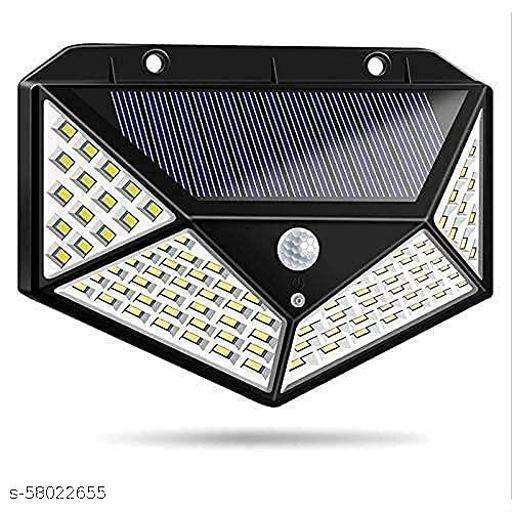 Ample Wings 100 Led Solar Motion Sensor Light, Outdoor Weatherproof for Driveway Garden Path Yard, Multicolor