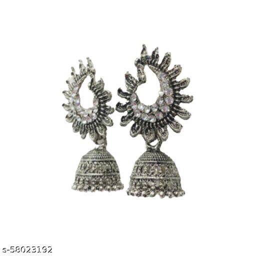 Yaazhi Store - Jhumki Earrings For Women